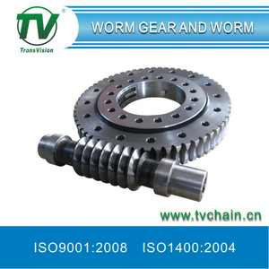 80 mm Centre Distance Worm Gear and Worm