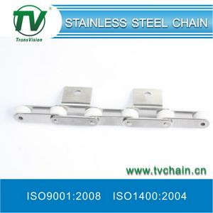 Stainless Steel Chains with Rubber Roller