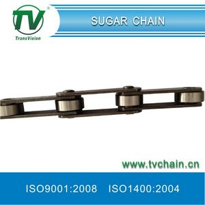 Sugar Chains with Straight Plates