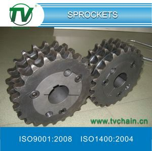 Triplex Taper Bore Sprockets